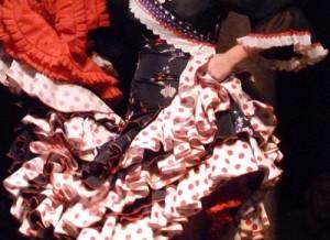 Tablao au musée du flamenco à Séville en décembre 2011